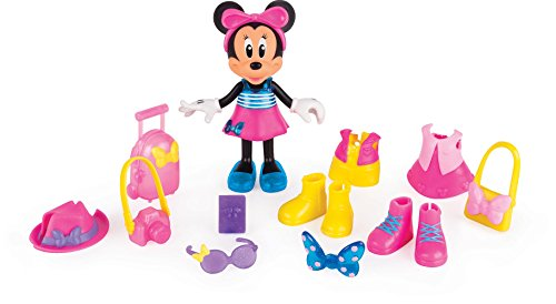Minnie Mouse- Fashion Dolls 2: Viajera, Multicolor (IMC Toys 182905)