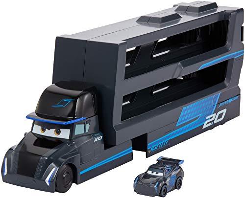 Disney Cars Pixar Gale Beaufort Camión para minicoches de Carreras de Cars (Mattel GNW35)