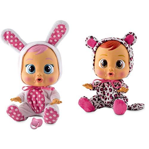IMC Toys Bebés Llorones, Coney (10598) + Bebés Llorones, Lea (10574)