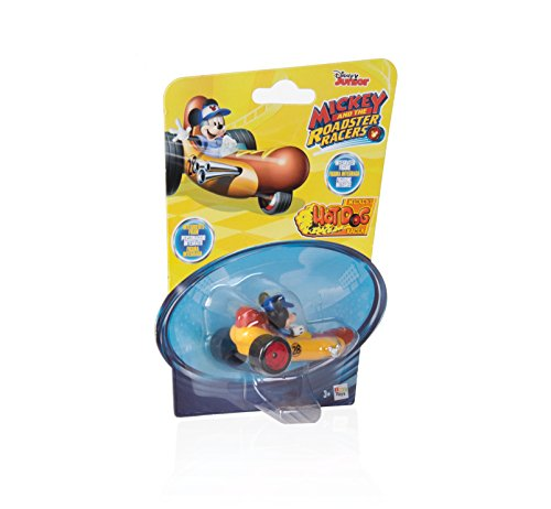Mickey Mouse- Mini Vehículos Diggity Hot Rod, Multicolor (IMC Toys 183759)