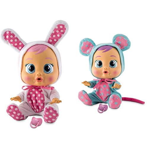 IMC Toys Bebés Llorones, Coney (10598) + 10581 Bebés Llorones Lala