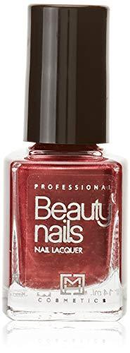 Beauty Nails Esmalte de Uñas Profesional 16 Rojo Nacarado 1 unidad 14 ml
