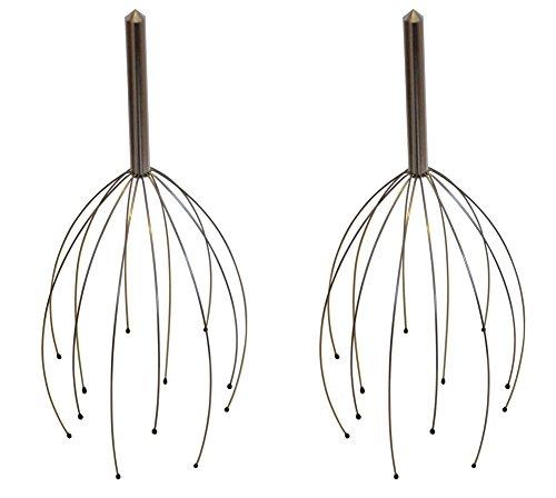 Casco de masaje relax masaje araña como kopfkrauler cabeza masaje de circulación sanguínea Relajación