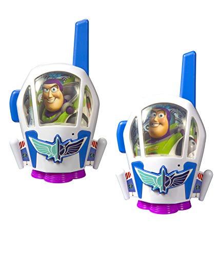 EKids- Toy Story 4 Walkie Talkies, Color Azul/Verde (RS414014)
