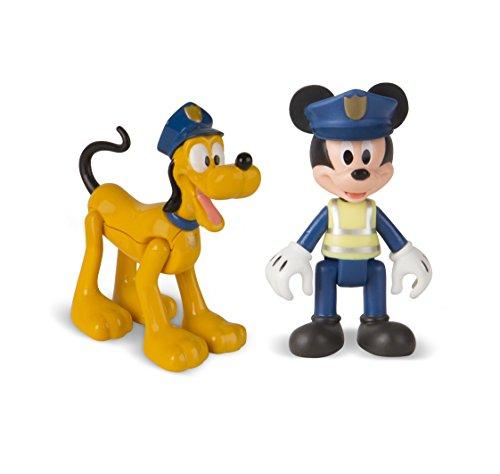 Mickey Mouse- Mickey+ Pluto POLICIA, Multicolor (Propio 182332)