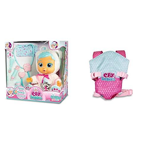 IMC Toys 98206 Bebés Llorones - Kristal + Toys - Bebés Llorones, Portabebés (90019)