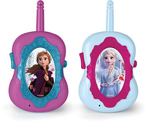 Disney Frozen 16644FR - Set de 2 walkie talkies (IMC Toys 16644) - Walkie Talkie, Muñecas y Accesorios A Partir de 4 años