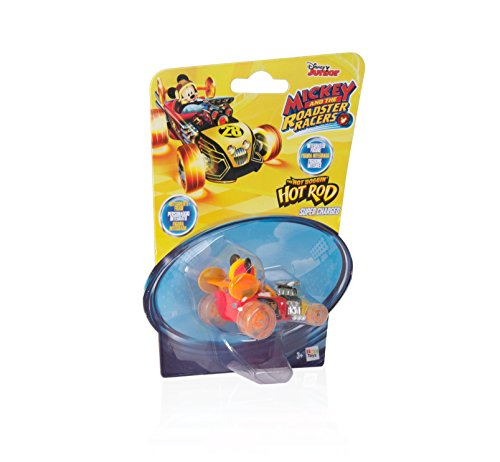 Mickey Mouse- Mini Vehículos: Supercharged Hot Rod (IMC Toys 183766)