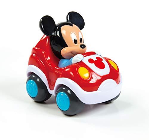 Clementoni 17166 Disney - Coche con Tirador de Espalda (Unidad única), Modelo Aleatorio