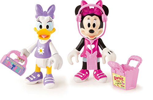 Minnie Mouse- Minnie + Daisy Let's GO Shopping, Multicolor (Propio 182547)