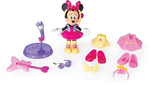 Minnie Mouse- Fashion Dolls 2: Pop Star, Multicolor (IMC Toys 182912)
