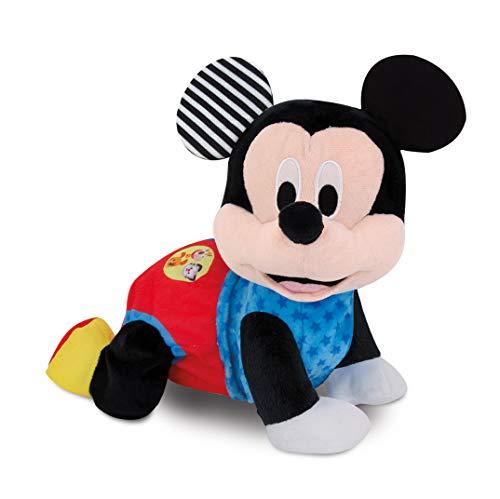 Clementoni-55256 - Baby Mickey Gateos - gateador bebé de Disney a partir de 6 meses