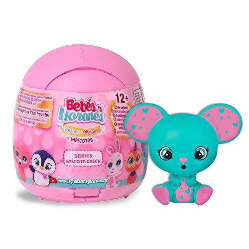 Bebés Llorones Lágrimas Mágicas Pets House - Casita de las Mascotas, mini mascotas sorpresas de Bebés Llorones que lloran lágrimas de verdad - modelo sorpresa