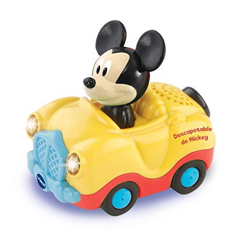 VTech - Tut Tut Bólido Disney Descapotable de Mickey, Multicolor (TTB Coche Descapotable de Mickey.)
