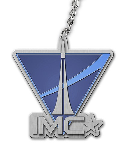 Titanfall Schlüsselanhänger Imc Logo [Importación Alemana]