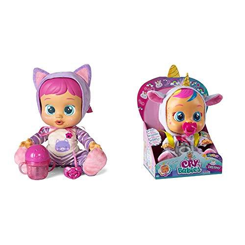 IMC Toys 95939, Cry Babies, Katie, 25 cm + Toys - Bebés Llorones Fantasy, Dreamy (99180)
