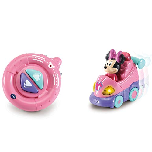 VTech 80-514704 TUT Baby Flitzer RC - Coche teledirigido de Minnie Mouse