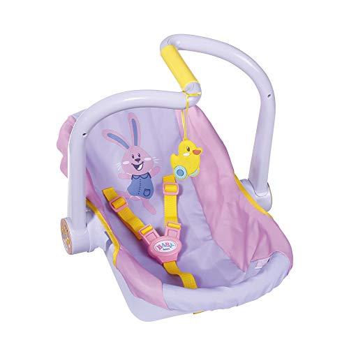BABY born Sillita para Muñecas de 43 cm - Con Cinturones de Seguridad con Clip, Para Manos Pequeñas, Promueve la Empatía y Las Habilidades Sociales, Para Niños a Partir de 3 Años