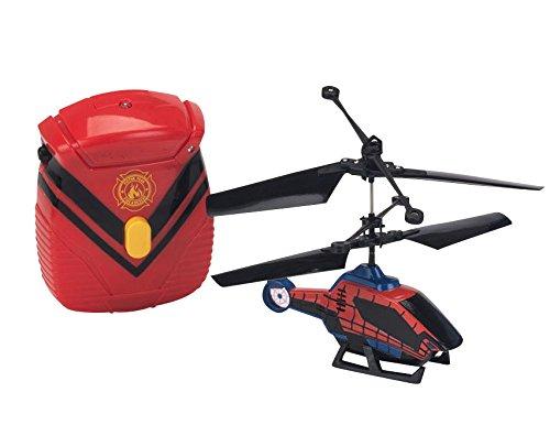 IMC Toys Spider-Man - 7905 - Vehículos en Miniatura - Helicóptero con controlable Principal - 12 cm