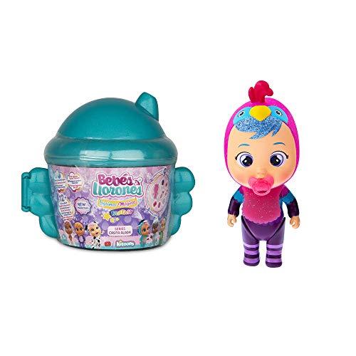 Bebés Llorones Lágrimas Mágicas Fantasy Casita Alada - Mini muñecas coleccionables con purpurina - Surtido
