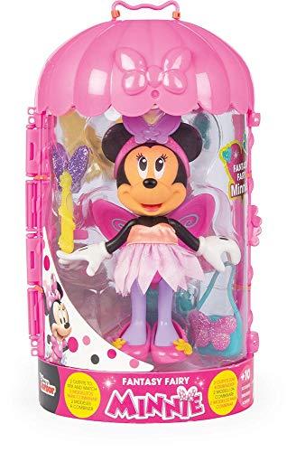 Minnie Mouse- Minnie Fashion Doll Hada Juguete, Color variado, Talla unica (China 1) , color/modelo surtido