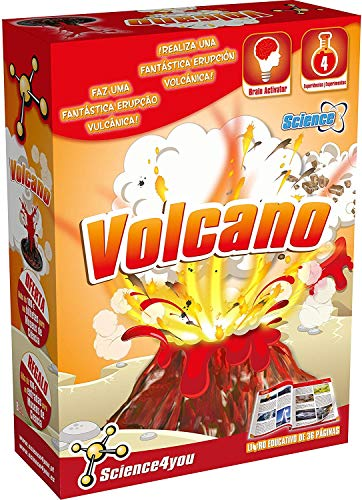 Science4you-Volcanos Juguete científico y Educativo Stem (480169)