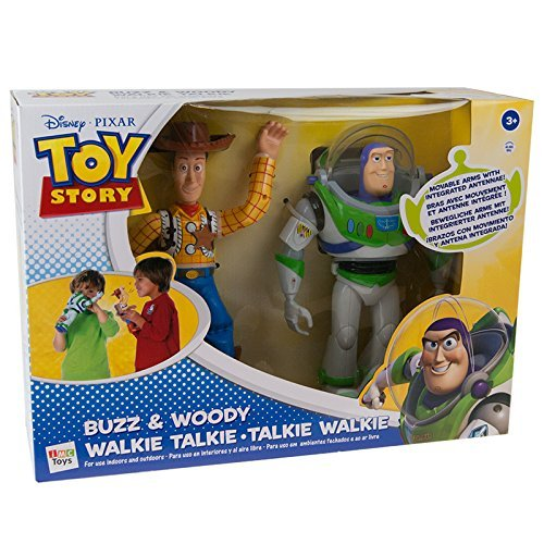 IMC Toys Toy Story Walkie-Talkie figurinas de Buzz y Woody, Multicolor (140400)