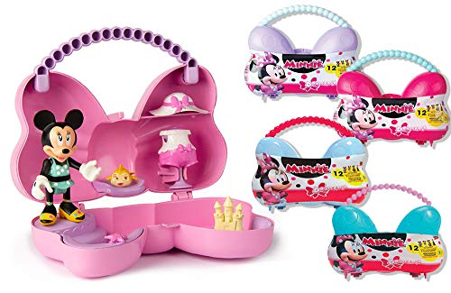 Minnie Mouse- Minnie BOWCKETS Juguete, Color variado, Talla unica (China 1) , color/modelo surtido