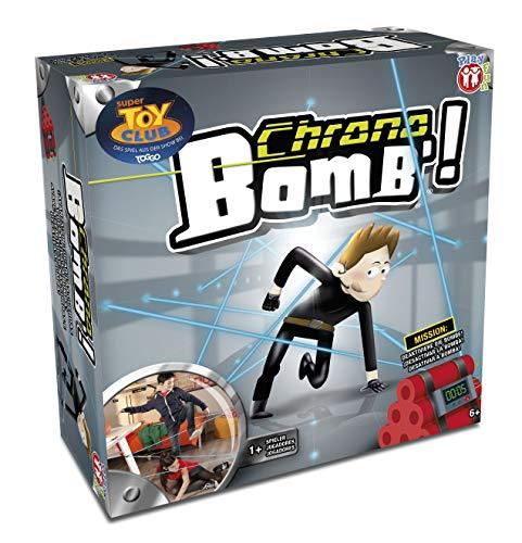 PLAY FUN BY IMC TOYS Chrono Bomb - Juego de habilidad muy entretenido para niños mayores de 6 años; desactiva la bomba