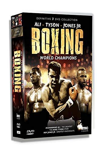 The Definitive Boxing World Champions 3 DVD Box Set - Muhammad Ali, Mike Tyson & Roy Jones Junior [Reino Unido]