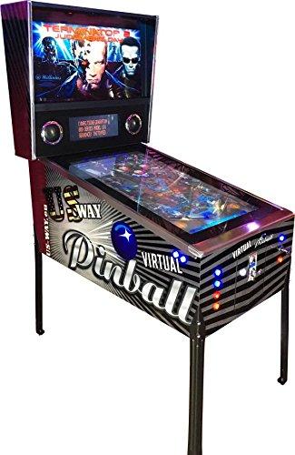 US-Way e.K. Máquina de videojuegos VP-01 Virtual Pinball Flipper Arcade Video TV Automat Jamma Games Machine