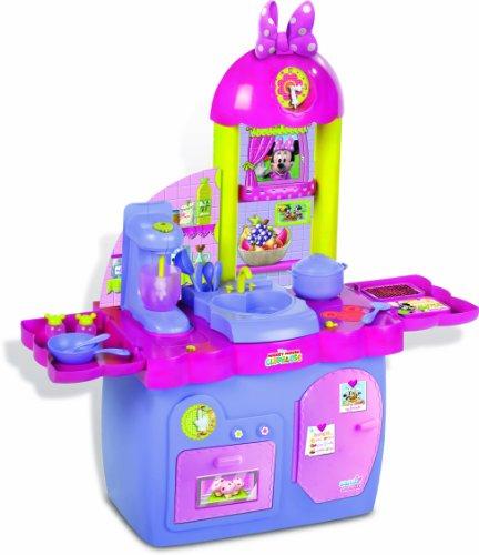 IMC Toys - Cocina Minnie 3 En 1 (Cocinar Comer Y Lavar) C/ 18 Accesorios 43-180437
