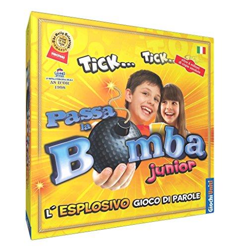 Giochi Uniti Passa la Bomba Junior - Juego de Mesa (en Italiano) [Importado de Italia]