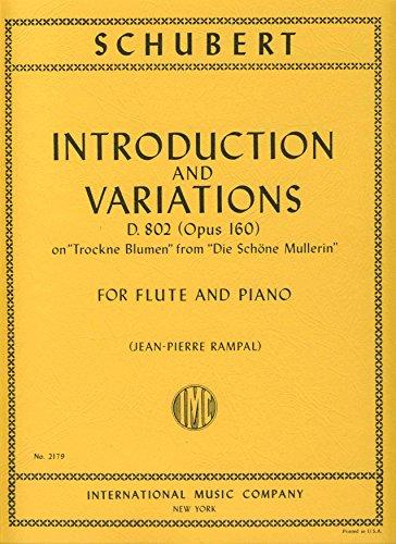 SCHUBERT - Introduccion y Variaciones Op.160 (D.802) 'Trockne Blumen' para Flauta y Piano (Rampal)