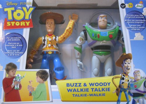 IMC Toys Buzz & Woody Figures Toy Story Walkie Talkie #140400
