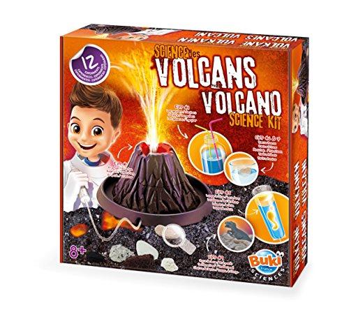 Buki France-La Ciencia de los Volcanes Juego, Multicolor (2124)