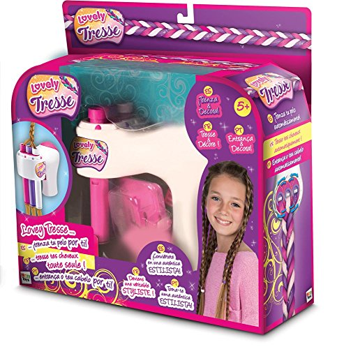 IMC Toys IMC Toys-96073 Lovely Tresse Trenza-Decora Pelo, Multicolor (Distribución 96073)