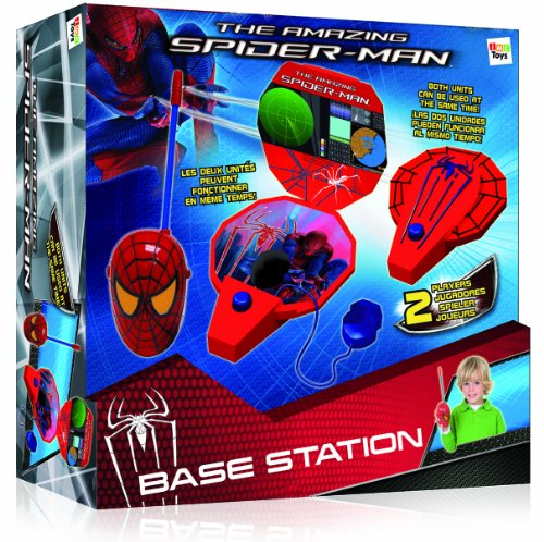 IMC Toys - Estación Base Spiderman con Walkie Talkie Cara 43-550704