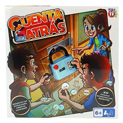 Juego Escape Room para Niños mayores de 6 años Cuenta Atrás de Play Fun - IMC Toys