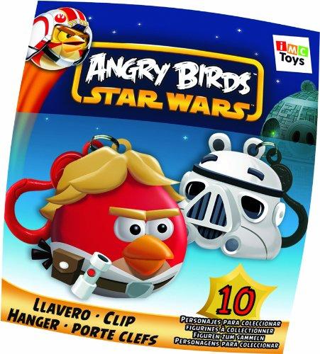 IMC Toys 35300 - Angry Birds llaveros, surtido: modelos y colores aleatorios, 1 unidad